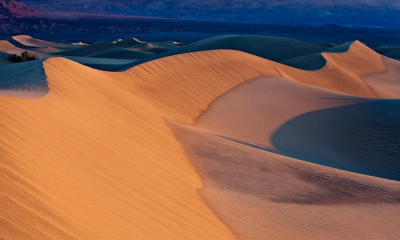 Eureka Dunes Sunrise (the Great Wall)