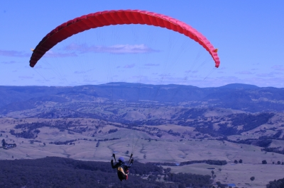 Paragliding At Blackheath