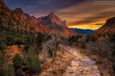 The Zion Sunset