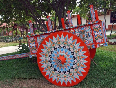 Painted Oxcart