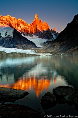 Cerro Torre At Sunrise, Patagonia