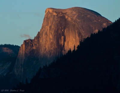 Half Dome At Summer Sunset