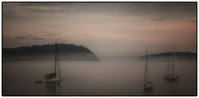 """morning Fog On Frenchman's Bay"""