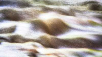 Abstract Of Moving Water