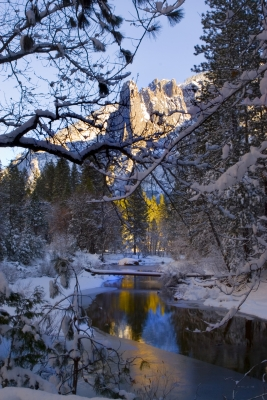 Reflections Of The Merced River