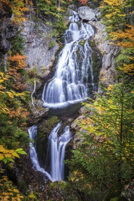 Crystal Cascade Dressed For Autumn