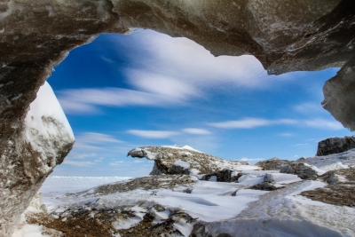 Lake Huron Ice Cave
