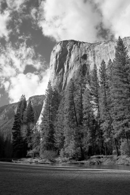 El Capitan From Cathedral Beach