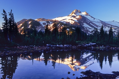 Mt. Jefferson Reflection, Jefferson Park, Or
