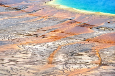 Prismatic Hot Springs, Yellowstone