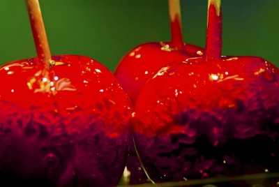 Green Apple-red Candy
