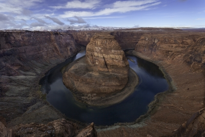 Horseshoe Bend, Winter Morning