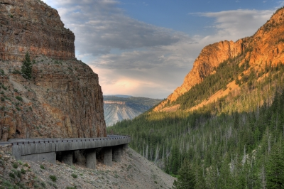 Golden Gate In Yellowstone National Park