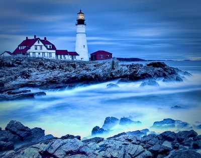 Early Morning At Portland Head Light
