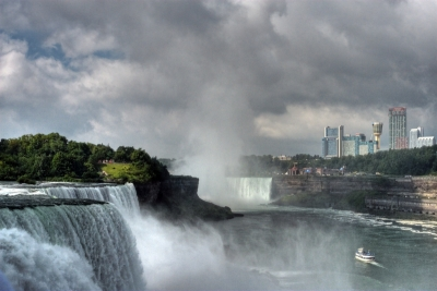 Niagara Falls And Maid Of The Mist