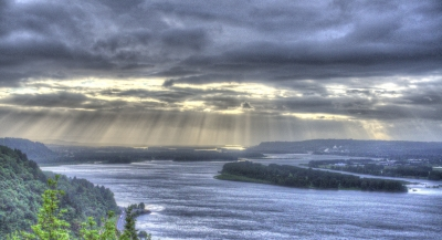 Columbia River Gorge Sunset