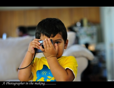 A Photographer In The Making