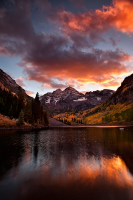 Maroon Bells, White River National Forest