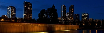 Evening Glow Bellevue Washington