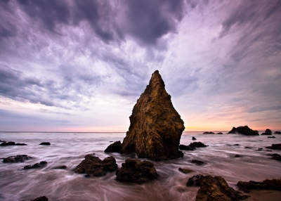 Monsoon Sunset, El Matador State Beach
