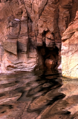Cave On Lake Powell