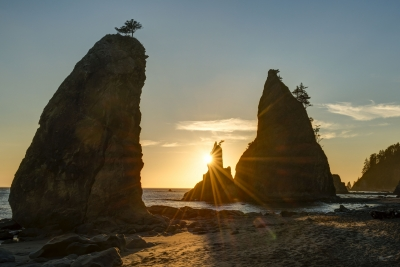 Split Rock Sunset