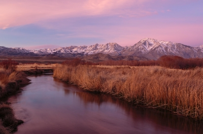 Sunrise Over The Owens River