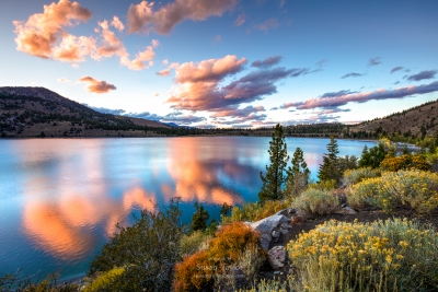 June Lake Autumn Sunset