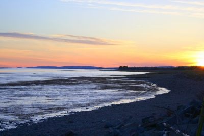 Spring Sunset On Cobequid Bay