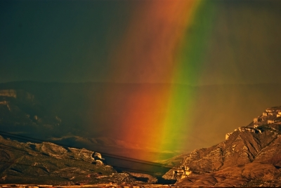Shell Canyon Rainbow