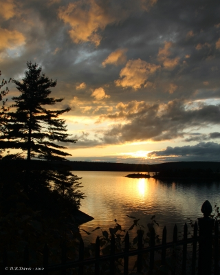 Sunset At Quabbin Reservoir
