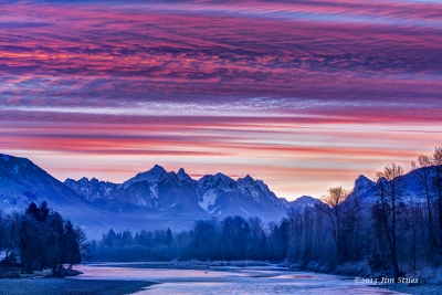 Skykomish River Sunrise