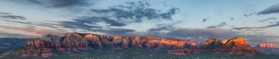 Red Rocks Of Sedona Panorama