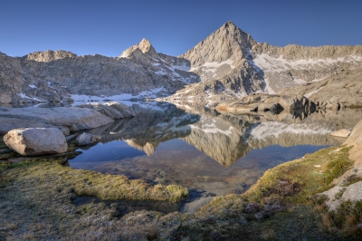 Reflections In Columbine Lake