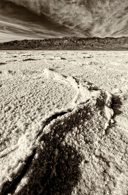 Badwater Salt Flat, Death Valley, California