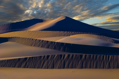 Sunset On Mesquite Flat Dunes