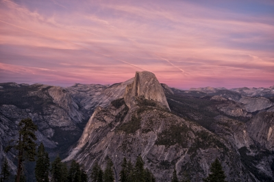 Fall Evening On Half Dome