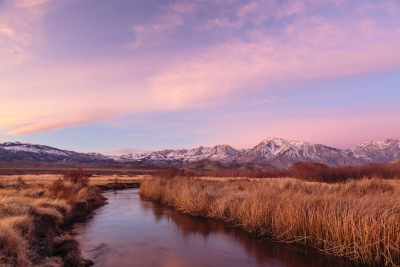 Big Sky Over The Owens Valley