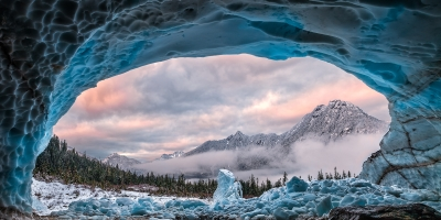 Ice Cave With A View