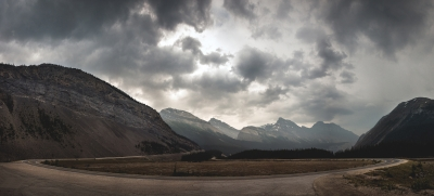 Icefields Parkway Hairpin