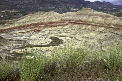 The Painted Hills At Dawn