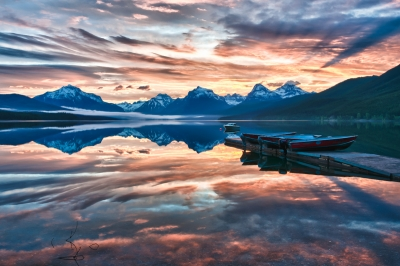 Sunrise, Lake Mcdonald