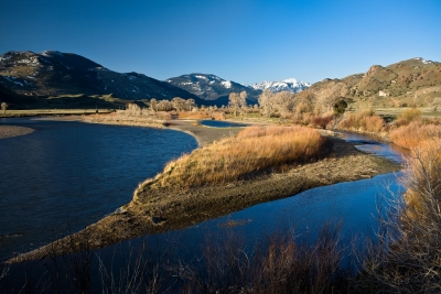 Spring On The Yellowstone River
