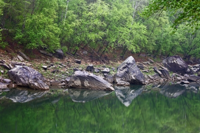 Reflections On Rockcastle River
