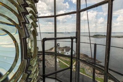 View From Boston Light
