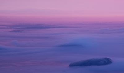 Porcupine Islands In The Fog