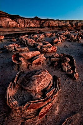 The Egg Factory, Bisti Badlands, New Mexico