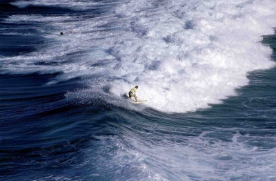 Surfing At North Stradbroke Island