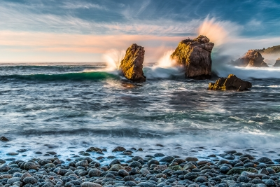 Crashing Waves At Soberanes Point