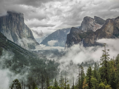 Clearing Spring Storm, Yosemite Valley